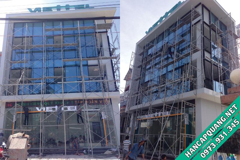 Dự án hàn cáp quang tòa nhà Viettel Châu Phú - An Giang
